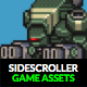 Space Sidescroller Game Assets - GraphicRiver Item for Sale