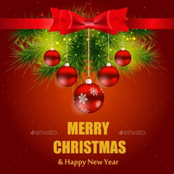 Christmas and New Year Background. - Christmas Seasons/Holidays
