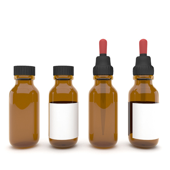 Medical bottles 3 - 3DOcean Item for Sale
