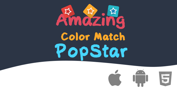 Amazing Color Match PopStar  - Html5 Game - CodeCanyon Item for Sale