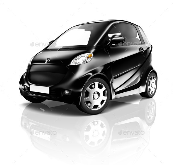 Electric Car - Stock Photo - Images