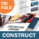 Construction Company Trifold Brochure - GraphicRiver Item for Sale
