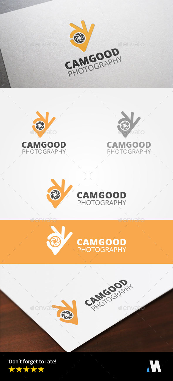 Ok Camera or Good Photography - Symbols Logo Templates
