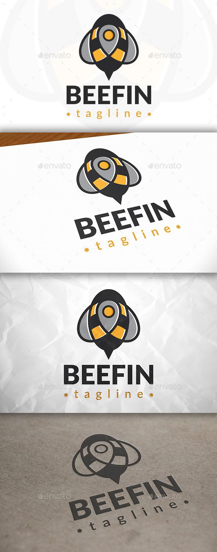 Bee Locator Logo - Symbols Logo Templates