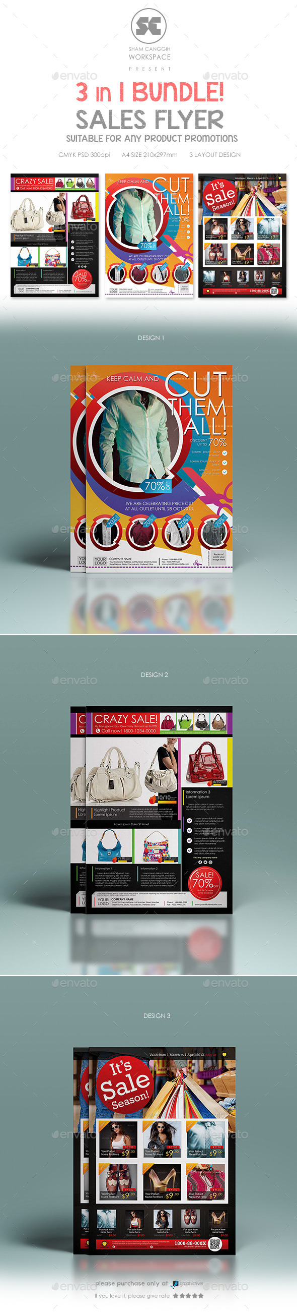 Multipurpose Sales Flyer Bundle - Miscellaneous Events