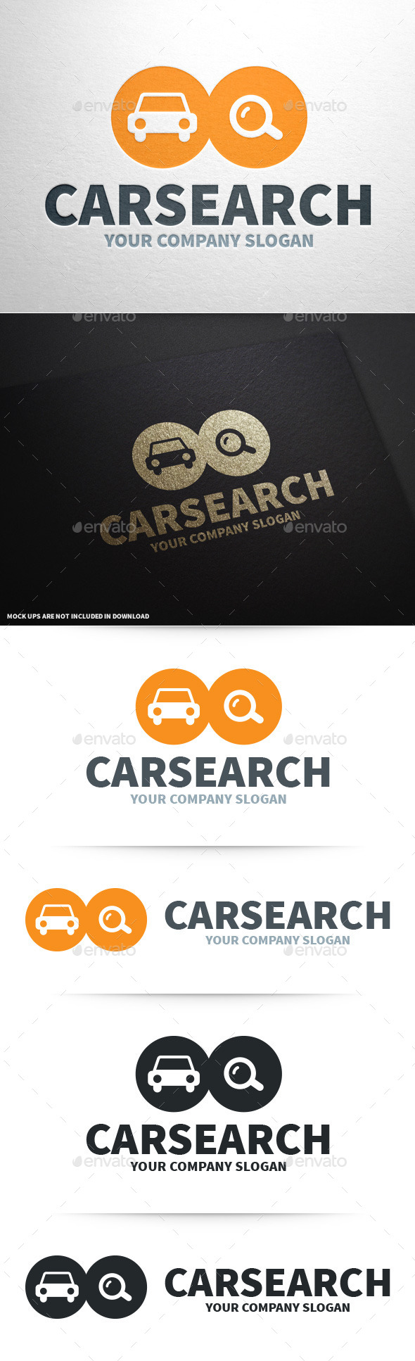 Car Search Logo Template - Objects Logo Templates