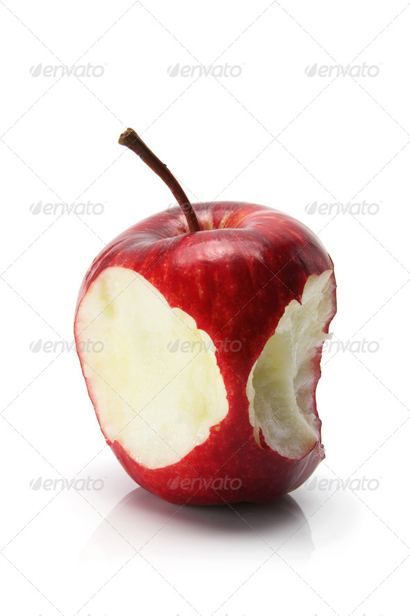 Red Delicious Apple - Stock Photo - Images