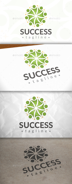 Success Logo - Humans Logo Templates