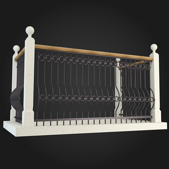 Balcony 005 - 3DOcean Item for Sale