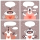 Set of Cards with Animals. - GraphicRiver Item for Sale
