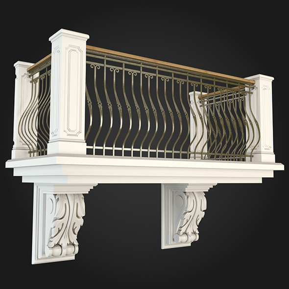 Balcony 014 - 3DOcean Item for Sale