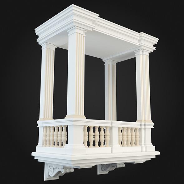 Balcony 016 - 3DOcean Item for Sale