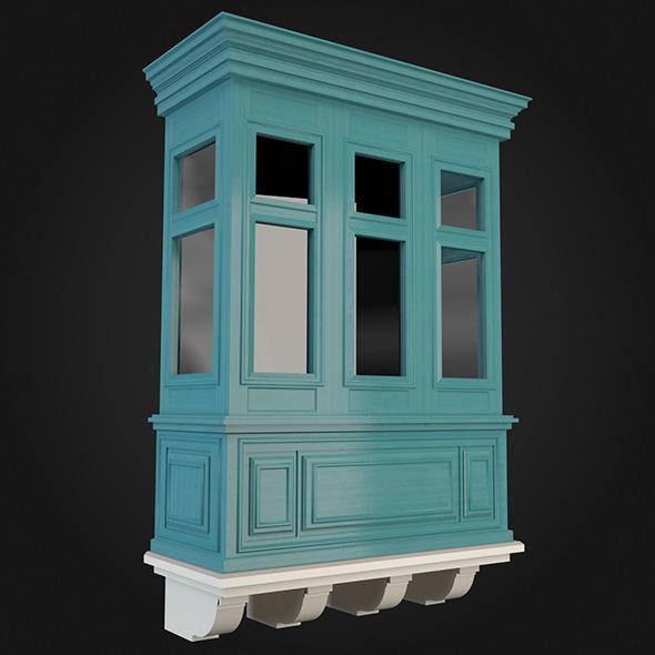 Balcony 017 - 3DOcean Item for Sale