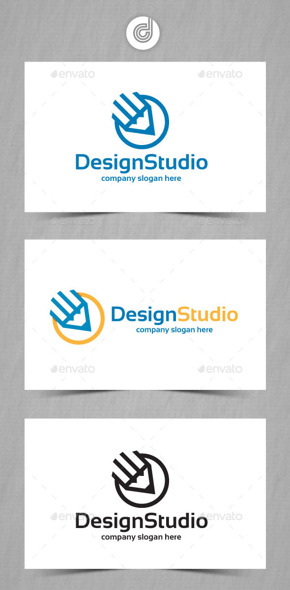 Design Studio - Objects Logo Templates