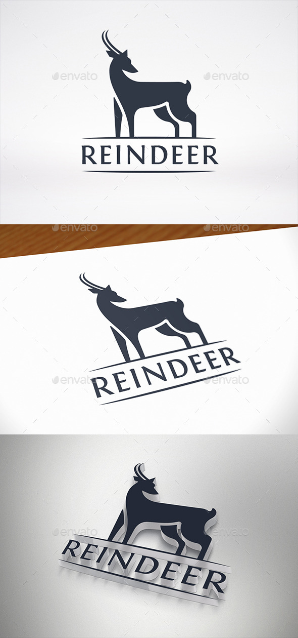 Deer Logo Template - Animals Logo Templates