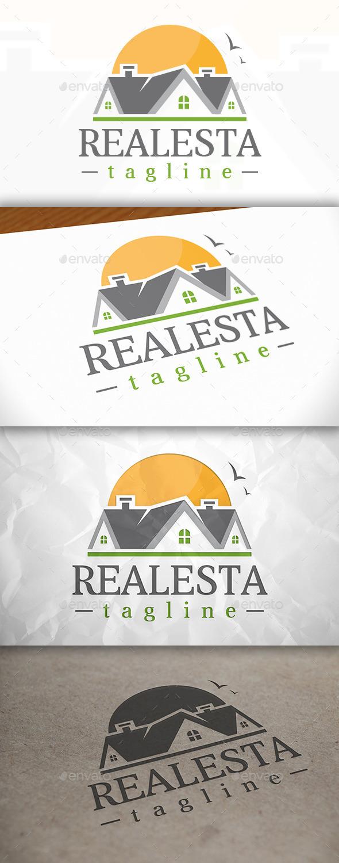 Real Estate Logo V.01 - Buildings Logo Templates