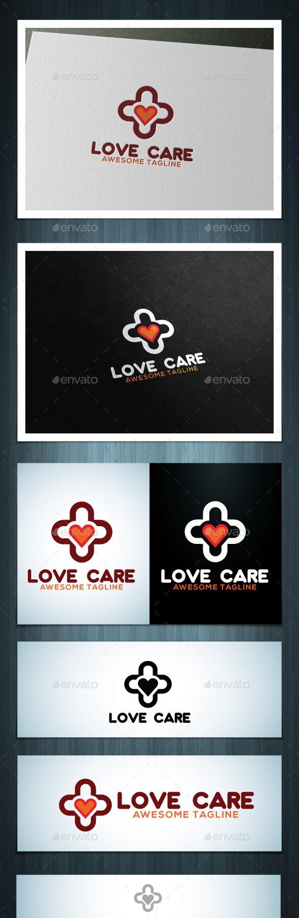 Love Care - Vector Abstract