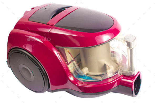 Modern vacuum cleaner - Stock Photo - Images