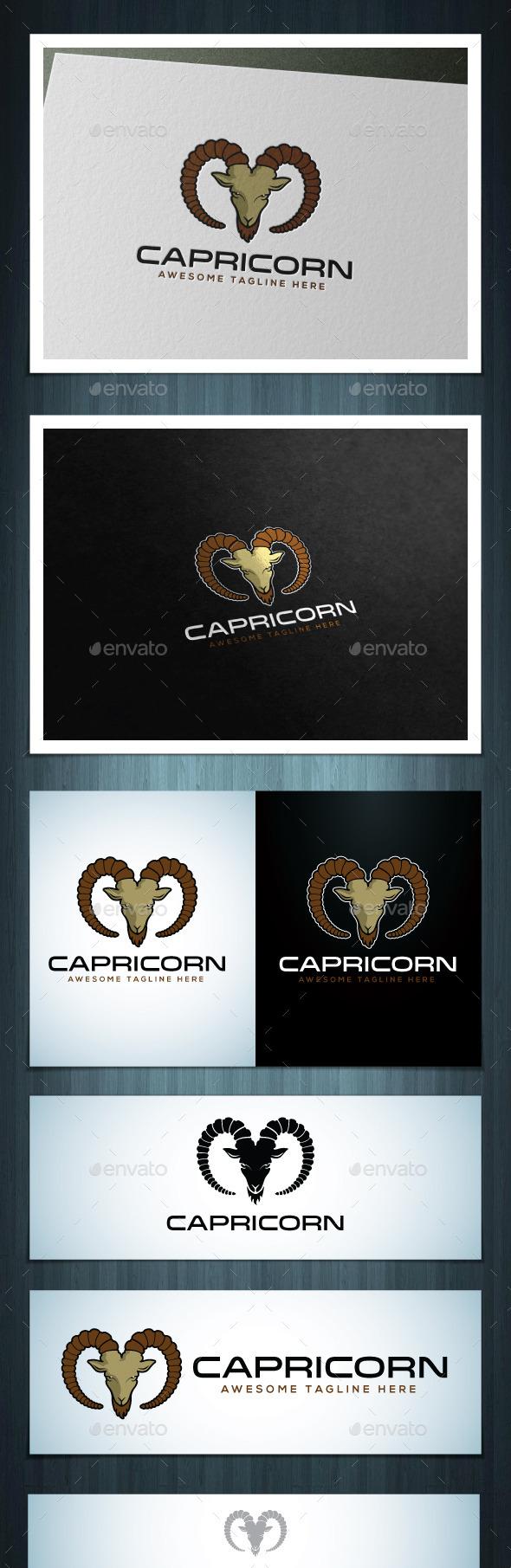 Capricorn - Vector Abstract