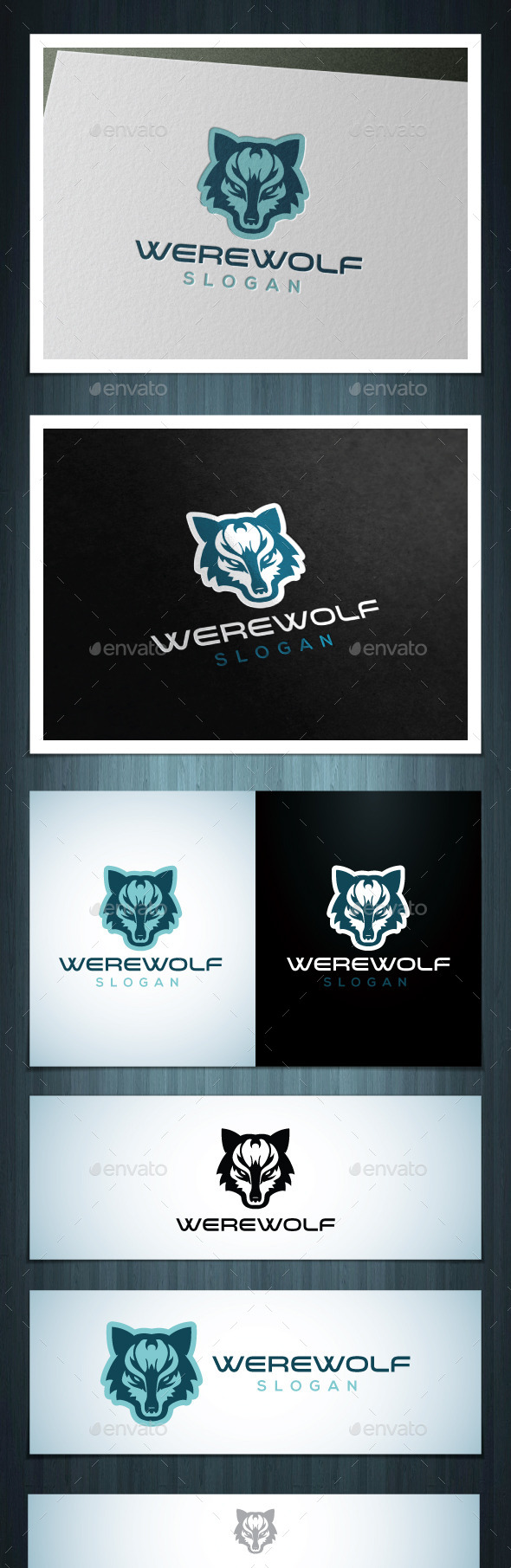Werewolf - Vector Abstract