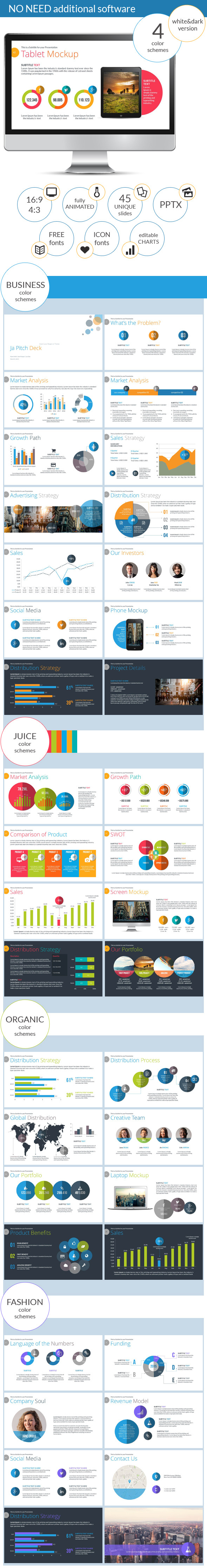 Ja Pitch Deck PowerPoint Presentation  - Pitch Deck PowerPoint Templates