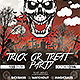 Trick Or Treat Party Flyer And Facebook Cover - GraphicRiver Item for Sale