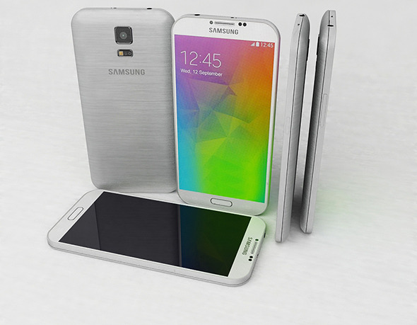 Samsung Galaxy F - 3DOcean Item for Sale