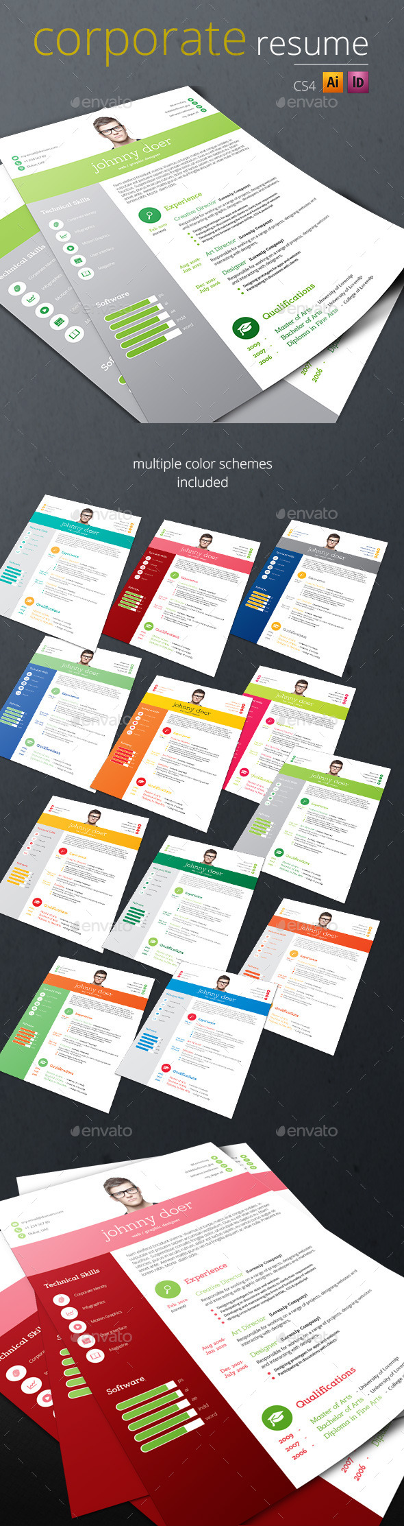 Corporate Resume - Resumes Stationery
