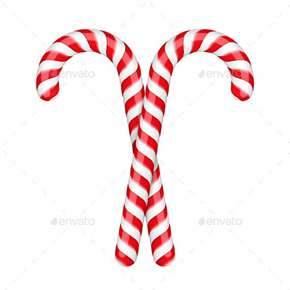 Candy Canes - Christmas Seasons/Holidays