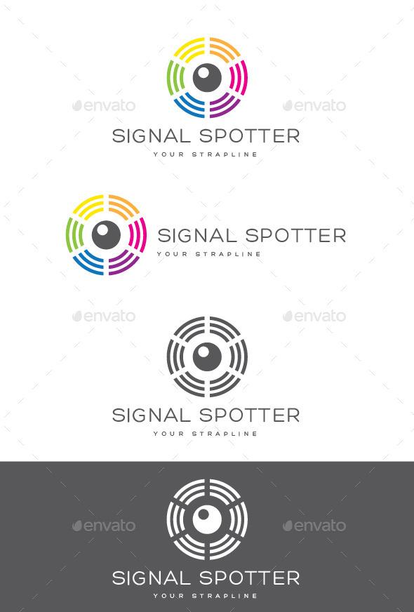 Signal Spotter Logo - Symbols Logo Templates