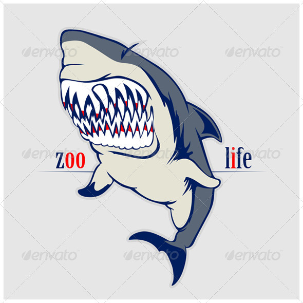 Shark Jaws - Animals Characters