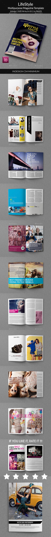 Lifestyle - Multipurpose Magazine Template - Magazines Print Templates