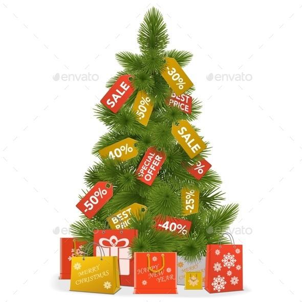 Christmas Sale Concept - Christmas Seasons/Holidays