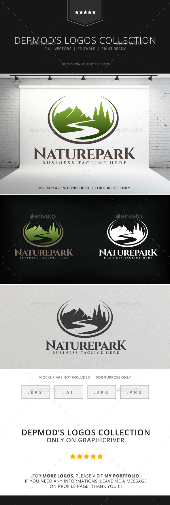 Nature Park Logo - Nature Logo Templates
