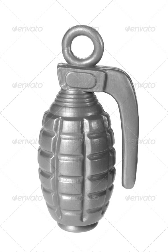 Hand Grenade - Stock Photo - Images