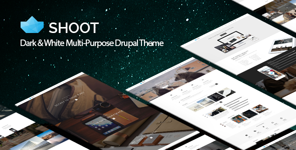 Shoot - Multi-purpose eCommerce Drupal Theme - Drupal CMS Themes