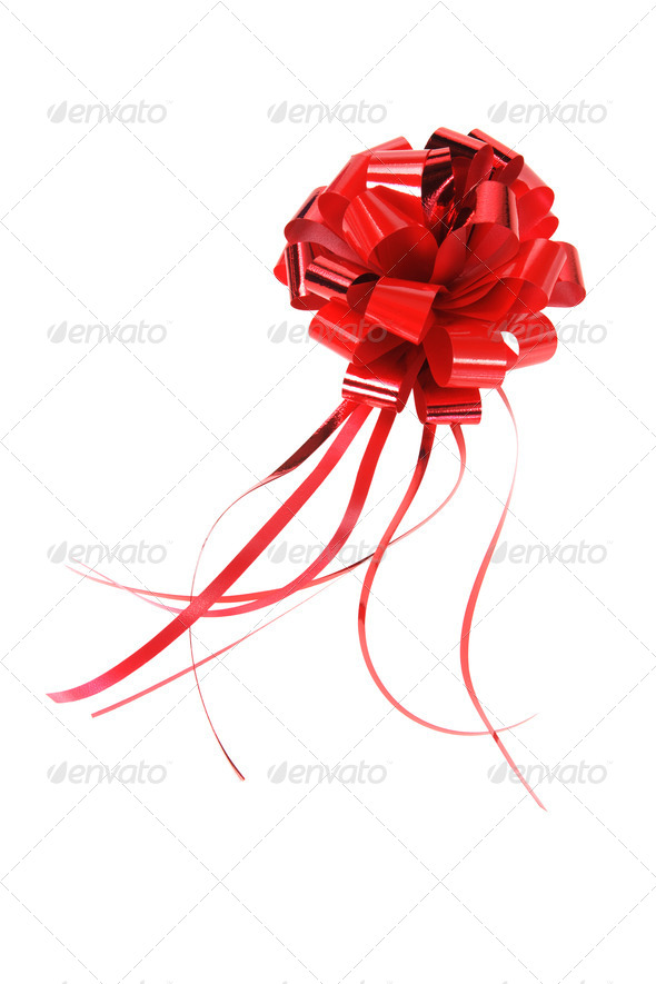 Red Bow - Stock Photo - Images