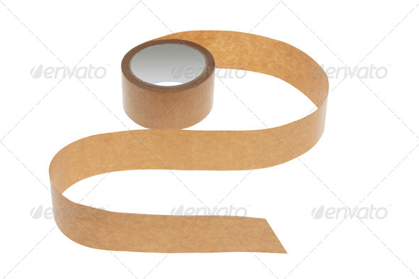 Roll of Packing Tape - Stock Photo - Images