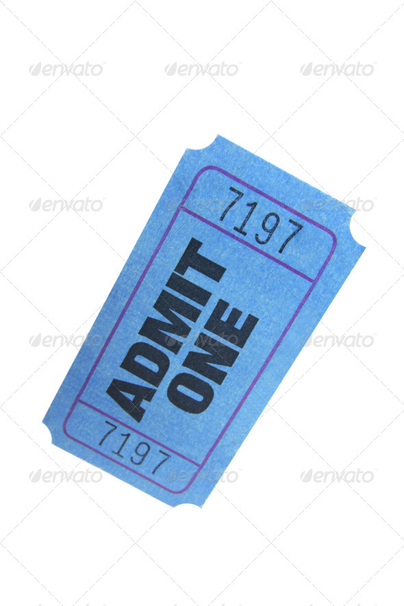 Movie Ticket - Stock Photo - Images