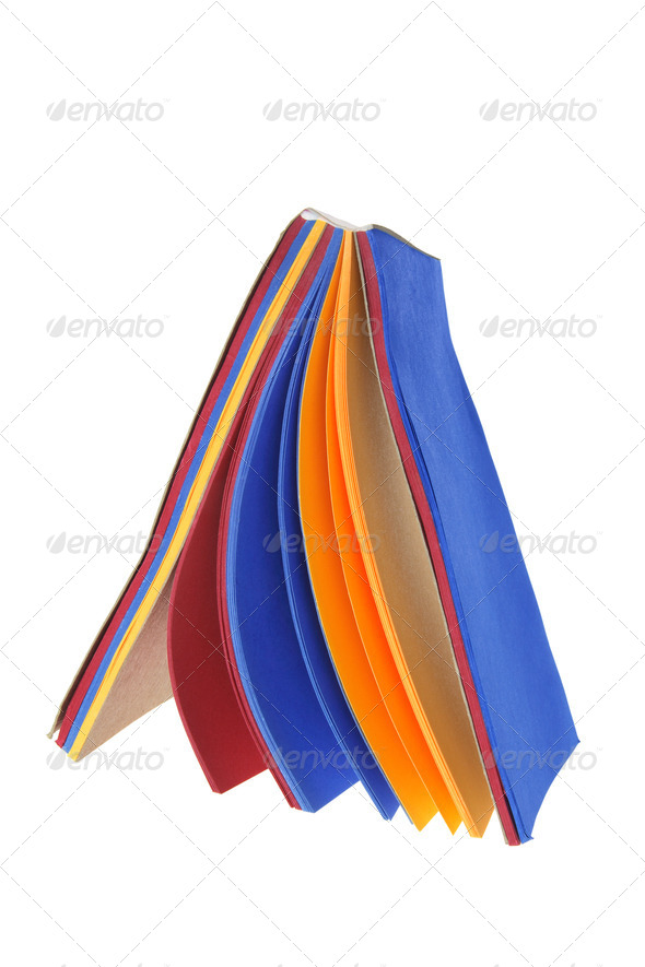 Color Paper Pad - Stock Photo - Images