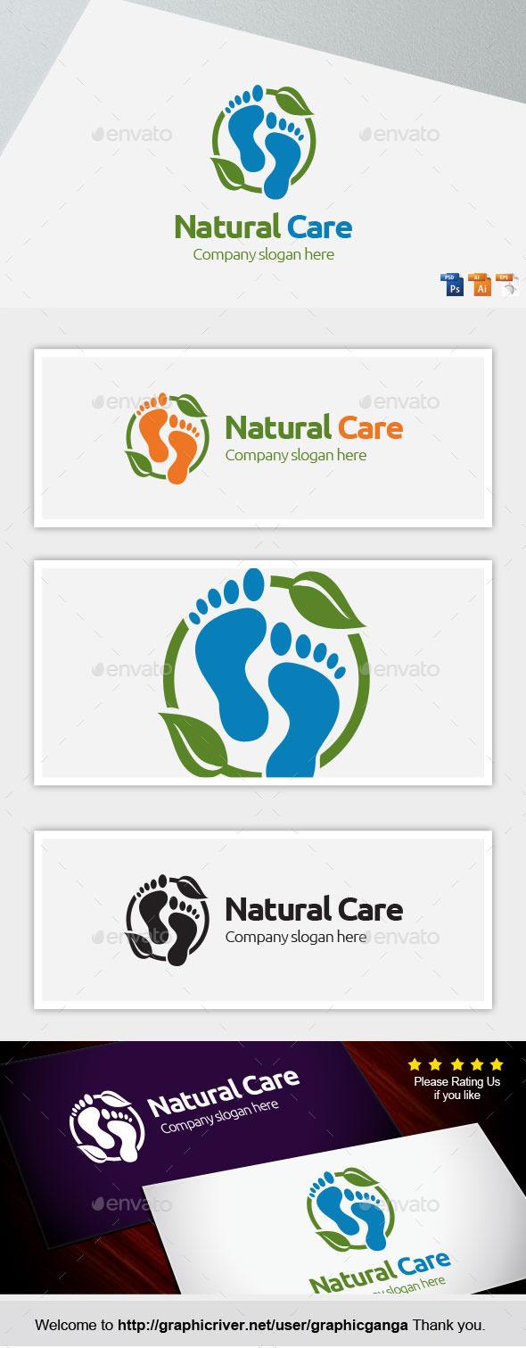 Natural Care - Nature Logo Templates