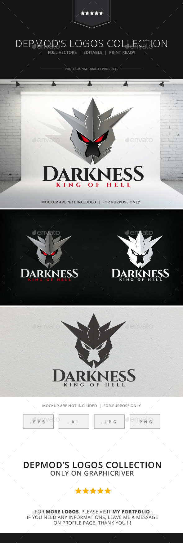 Darkness Logo - Objects Logo Templates