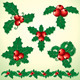 Christmas Holly Decoration - GraphicRiver Item for Sale