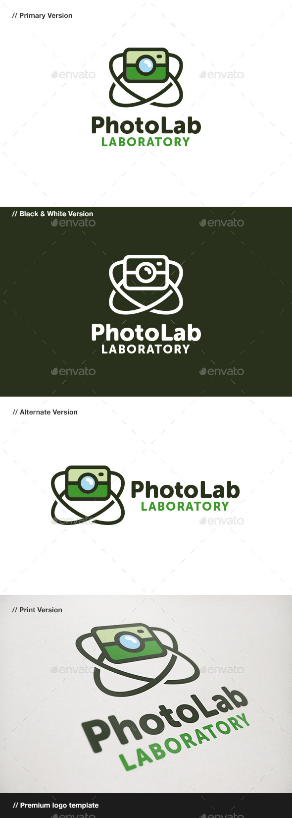 Photo Lab - Objects Logo Templates