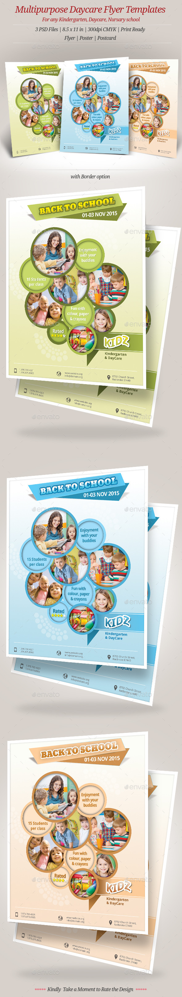 34+ Daycare Flyer Templates Free Example Design Ideas