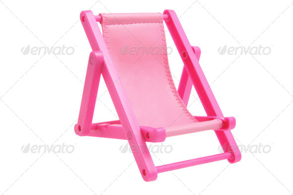 Miniature Deckchair - Stock Photo - Images