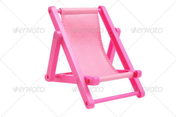 Miniature Deckchair - Stock Photo - Images