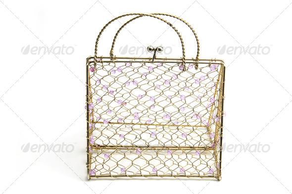 Wire Handbag - Stock Photo - Images