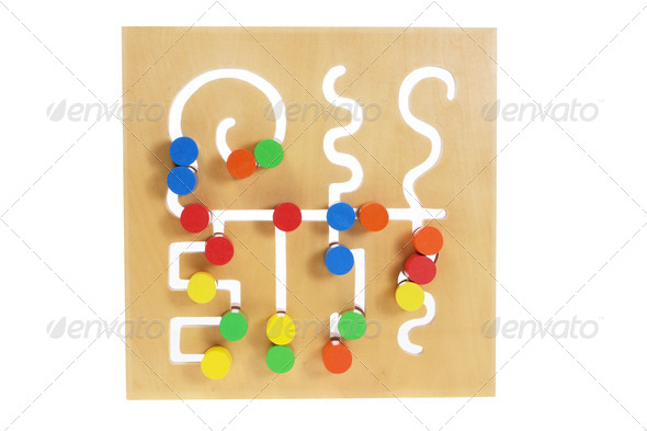 Wooden Toy - Stock Photo - Images