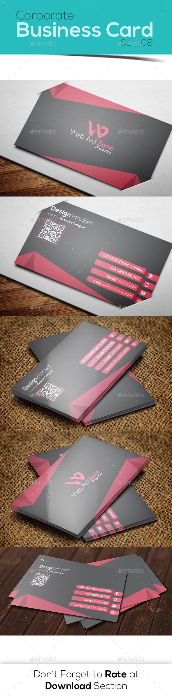 Corporate Business Card 08 - Corporate Business Cards